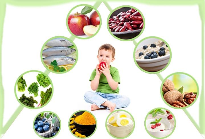 Best Food For kids Brain Development