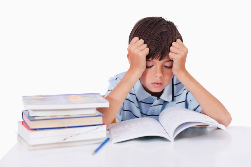 Too Much Homework Bad for Kids' Health