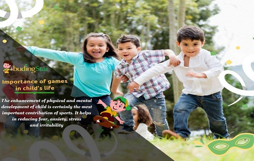 Importance of games in child's life