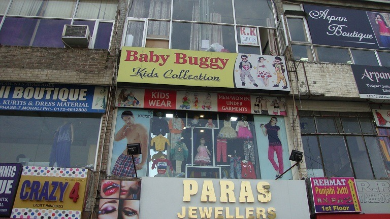 Best clothing shops for kids in Mohali