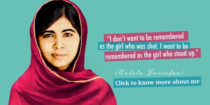 """Things We can all learn From """"Malala Yousafzai"""""""