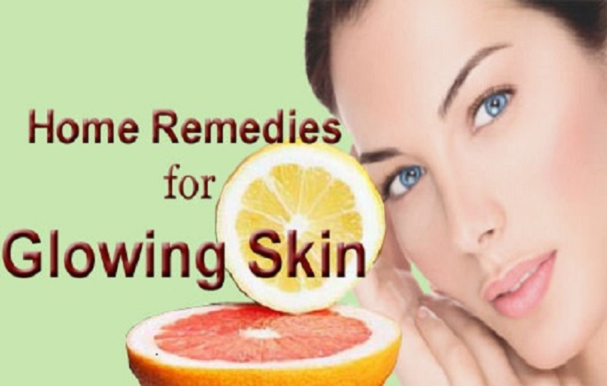 Home Remedies for Glowing and Flawless Skin