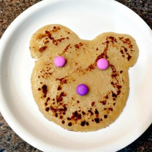 Meetha Cheela for Kids- Sweet wheat flour Pan Cake
