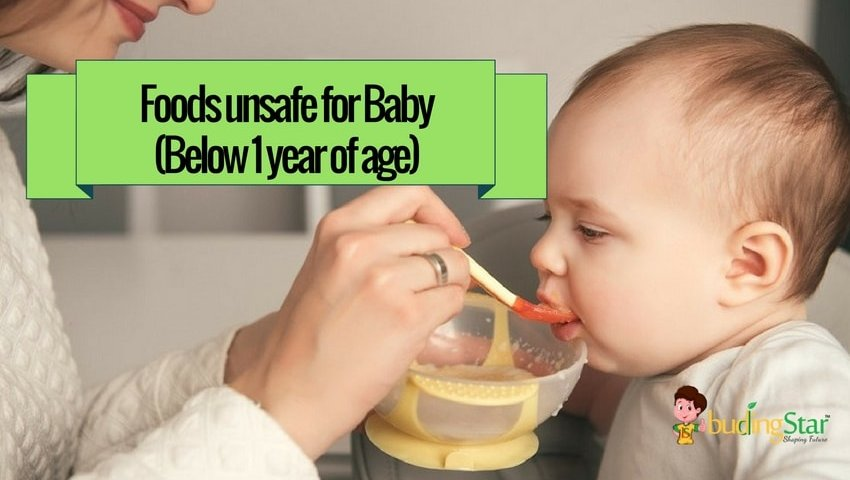 Foods That Are Unsafe For Baby