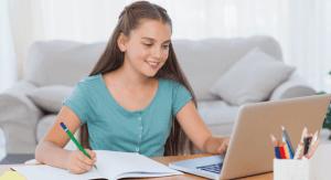 child's homework
