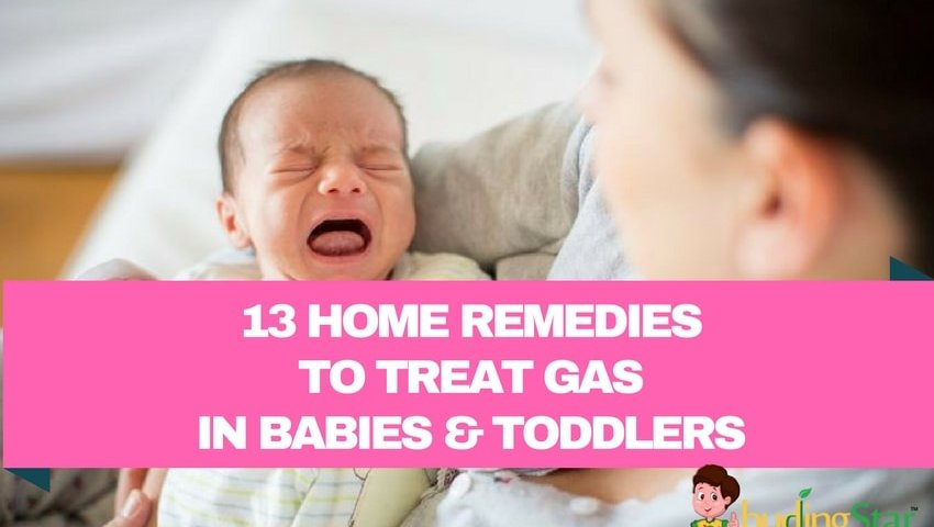 Home Remedies to Treat Gas in Babies and Toddlers