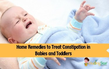 Home Remedies to Treat Constipation in Babies and Toddlers