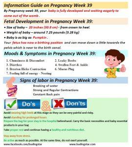 Pregnancy Week 39