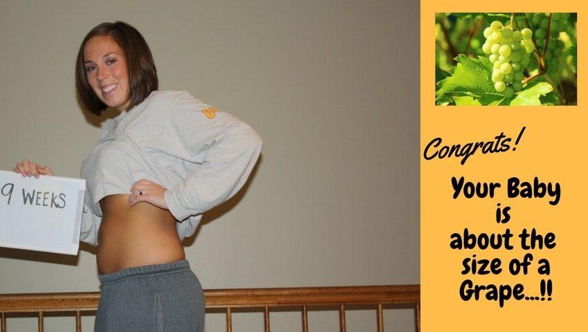 Pregnancy week 9
