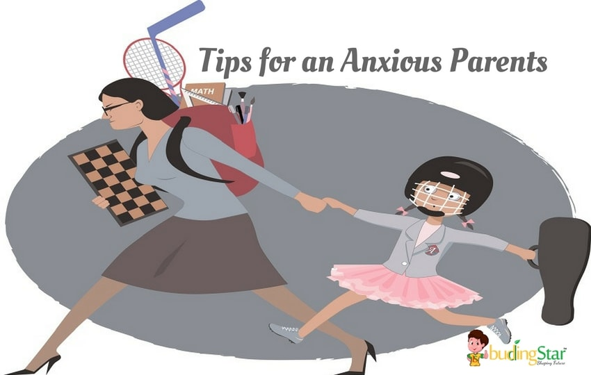 tips for an anxious parents